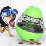 PETDURO Dog Toys Puzzle Treat Ball Fun Interactive Food Dispenser Slow Feeder Tumbler