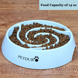 Dog Bowls Slow Feeder Maze Puzzle Food Bowls for Fast Eaters Large Medium Small Breeds