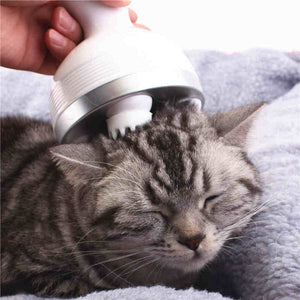PETDURO Handheld Electric Massager Straight Handle with Deep Tissue Kneading for Your Kitten Cats