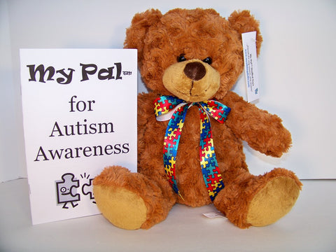 plush toy - My Pal for Autism Awareness BEAR
