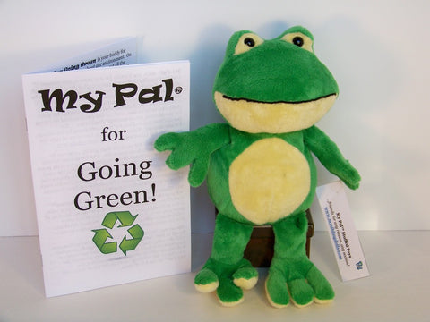 plush toy - My Pal for Going Green! FROG