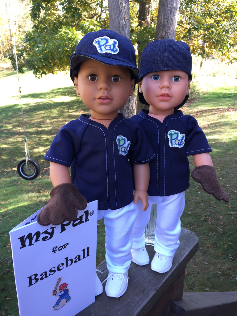 18 inch boy doll baseball