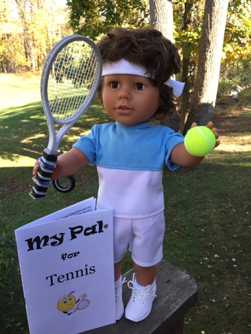 18 inch boy doll - My Pal for Tennis
