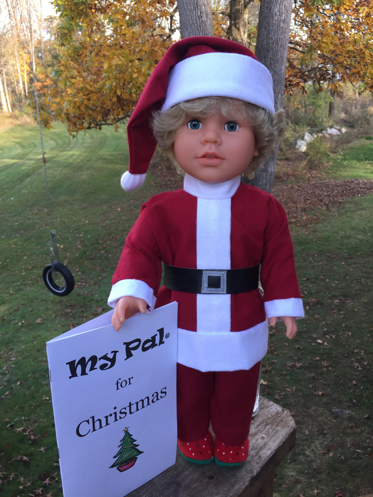 Christmas doll for boys 18 inch