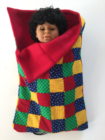 18 inch boy doll bed - sleeping bag