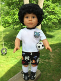 18 inch boy doll Lionel Messi