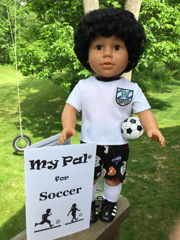 18 inch boy doll - My Pal for Soccer