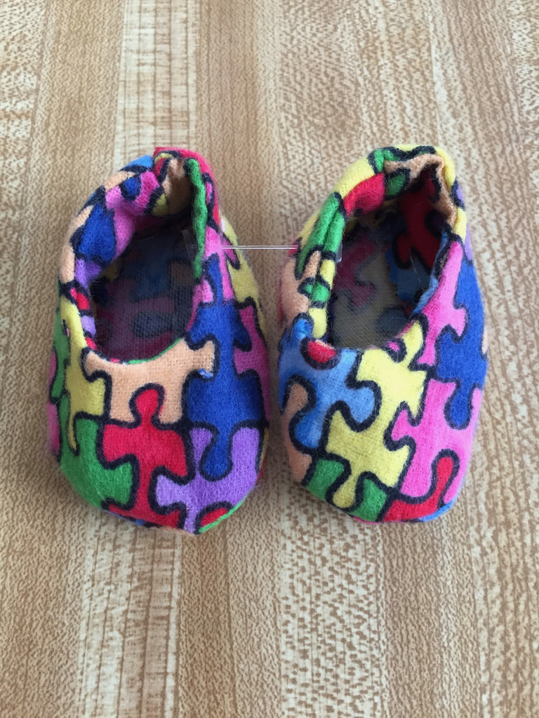 boy doll footwear - slippers 1