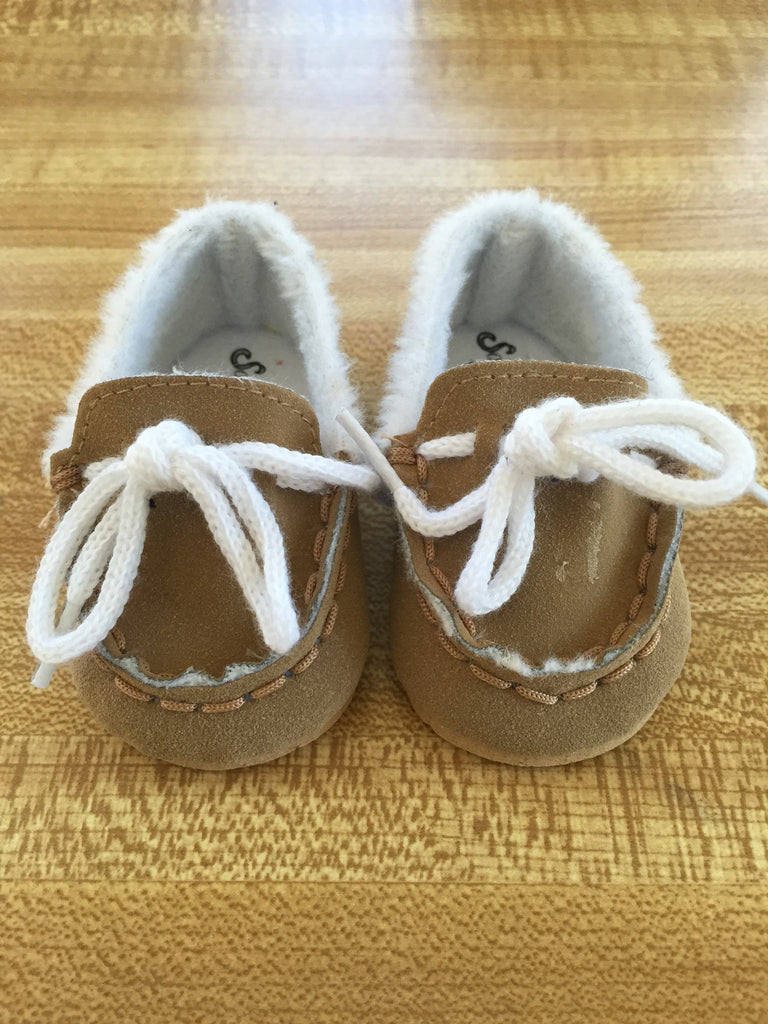 boy doll footwear - moccasins