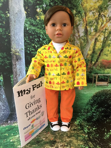 18 inch boy doll - My Pal for Giving Thanks