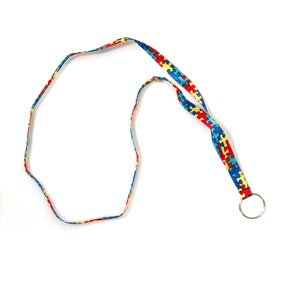 z- autism awareness lanyard