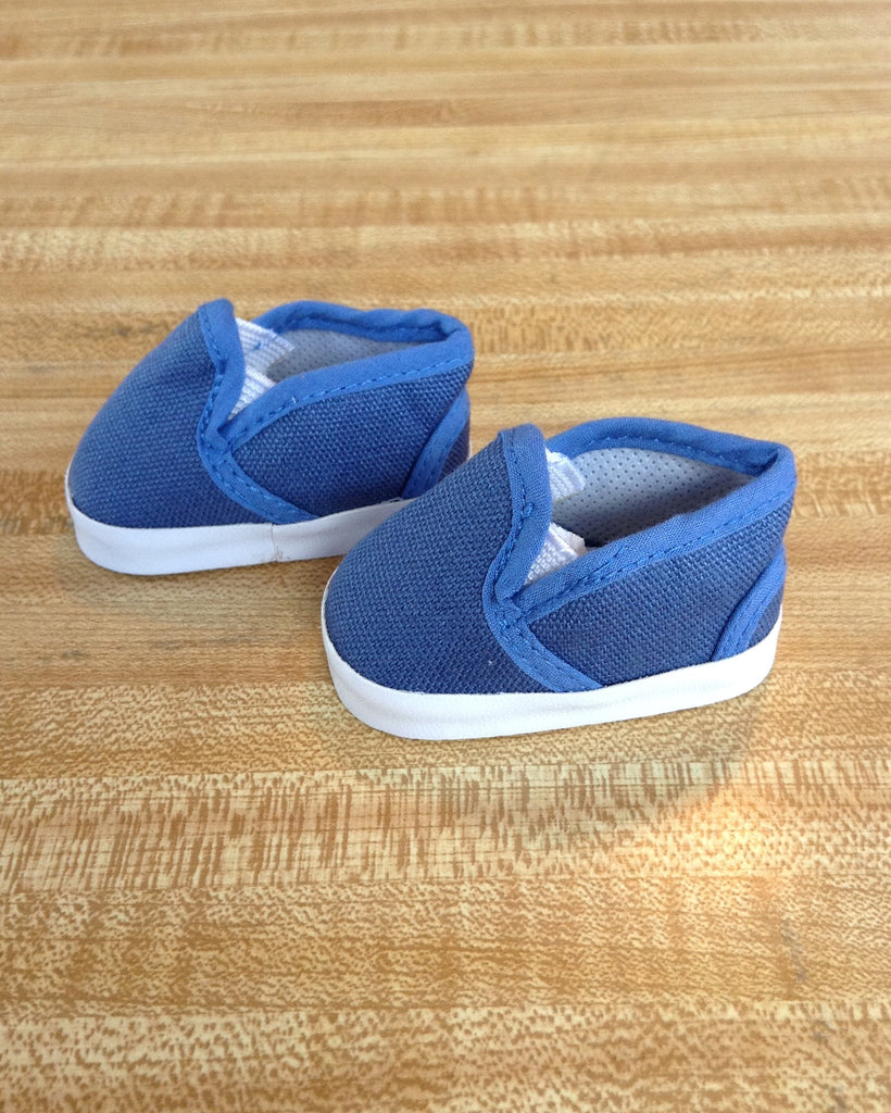 boy doll footwear - slip-on sneakers - royal blue