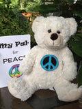 plush toy - My Pal for Peace BEAR