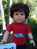 18 inch boy doll autism awareness