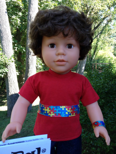 18 Autism Awareness Boy Doll My Sibling And My Pal Dolls