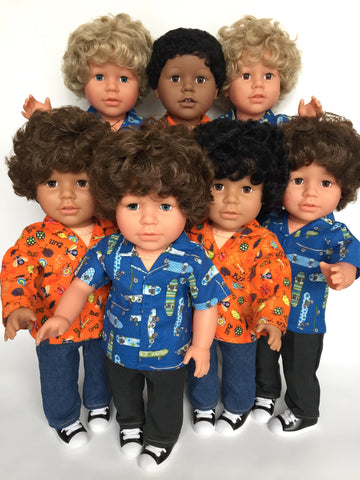 18 inch boy doll - NEW - My Pal and Me - 14 choices - DIY and save! - option 2