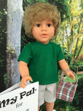 18 inch boy doll My Pal for Going Green