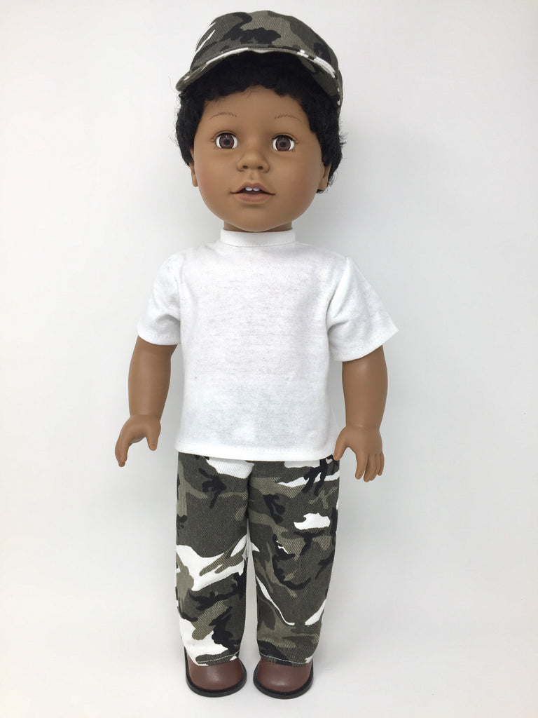 18 inch boy doll clothes African American