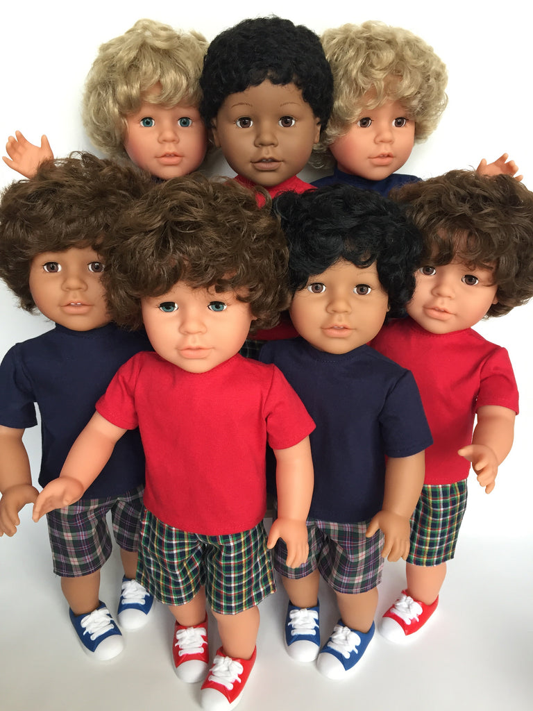 18 inch boy doll - NEW - My Pal and Me - 14 choices - DIY and save! - option 1