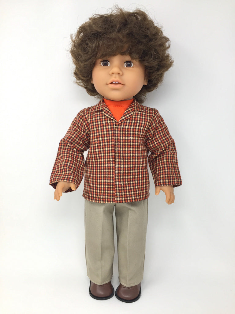 18 inch boy doll clothes