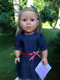 "autism awareness 18"" girl doll - My Sibling® Victoria"
