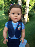 18 inch girl doll - April - My Sibling