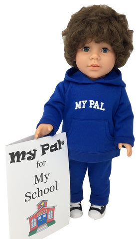 18 inch boy doll - My Pal for My School