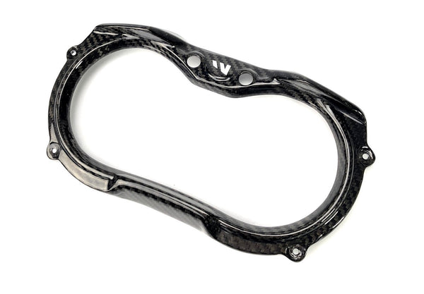 CAN AM MAVERICK X3 CARBON FIBER GAUGE SURROUND