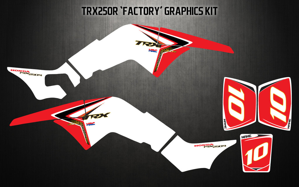 TRX250R 'FACTORY' GRAPHICS KIT