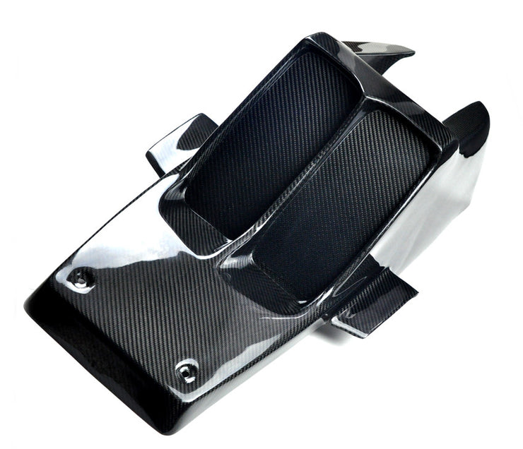 YAMAHA BANSHEE CARBON FIBER FRONT FENDER - CLOSED VENTS
