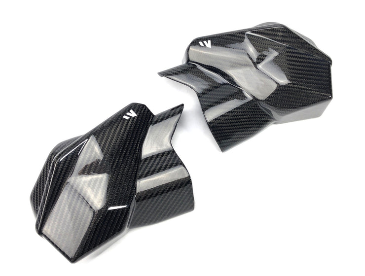 CAN AM MAVERICK X3 MAX CARBON FIBER MID CAGE TRIM / SET - 17-19 ONLY