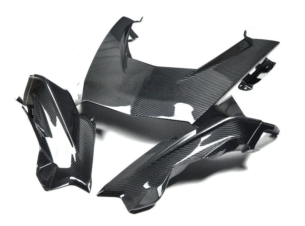 SKI DOO 'GEN 4' CARBON FIBER HOOD PANEL SET