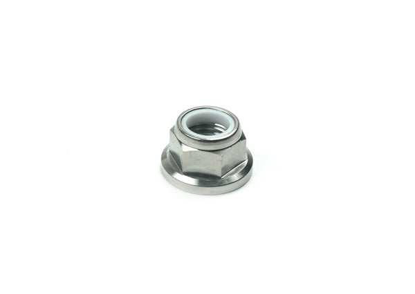 M10 x 1.25mm TITANIUM FLANGE LOCK NUT