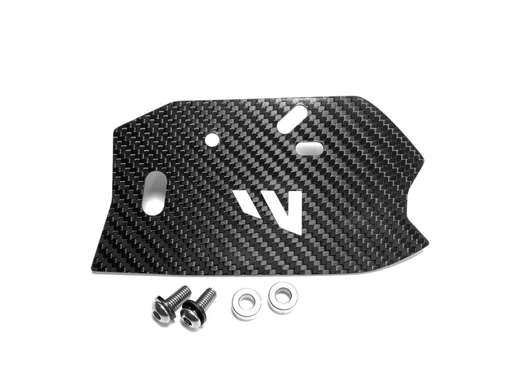 TRX450R CARBON FIBER REAR MASTER CYLINDER GUARD