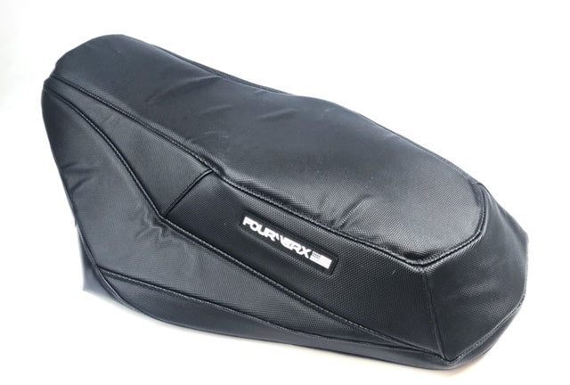 POLARIS AXYS 'RMK' SEAT COVER - BLACK GRIPPER