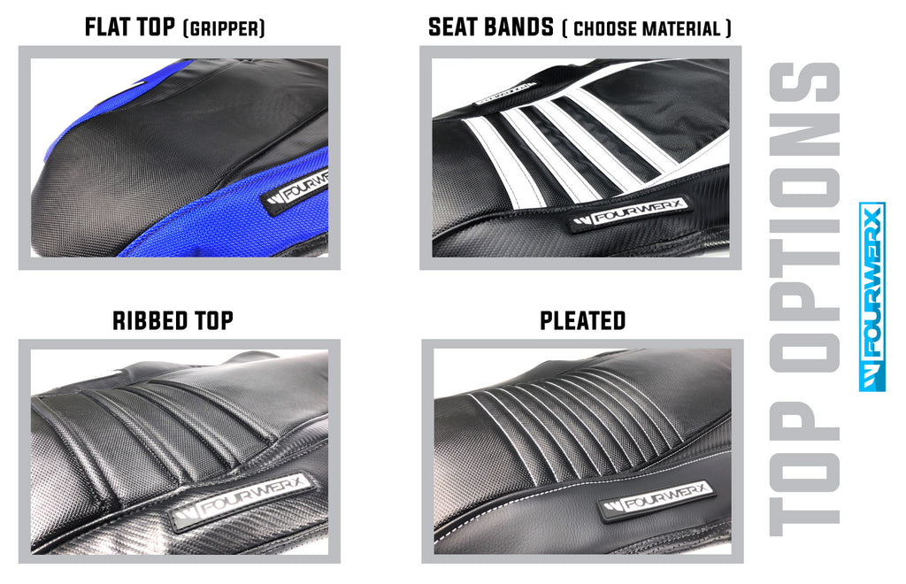 YAMAHA 04+ YFZ-450 'CARB' WAVE SEAT COVER | FOURWERX