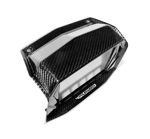POLARIS RZR TURBO S / RC MODELS - CARBON FIBER SCREEN SURROUND