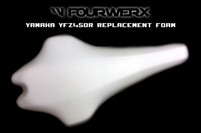 09+ YAMAHA YFZ450R / X REPLACEMENT SEAT FOAM