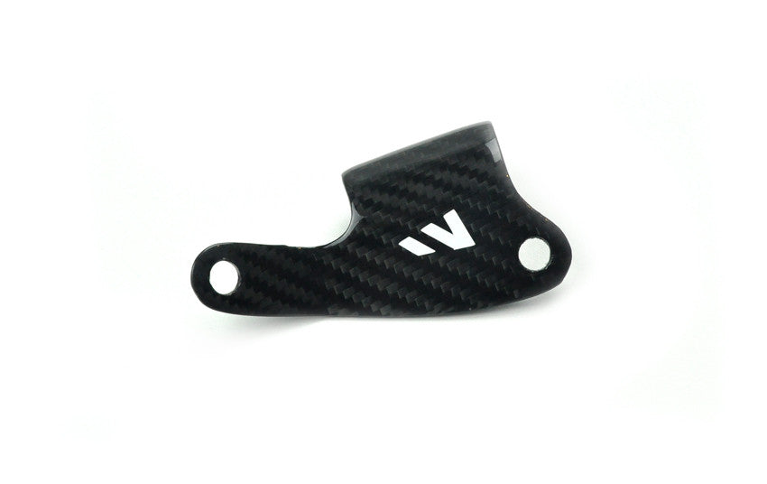 YFZ450R MASTER CYL. RESERVOIR GUARD - CARBON FIBER