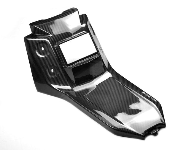 YAMAHA YXZ1000 R / RR CARBON FIBER BATTERY COVER / CENTER CONSOLE
