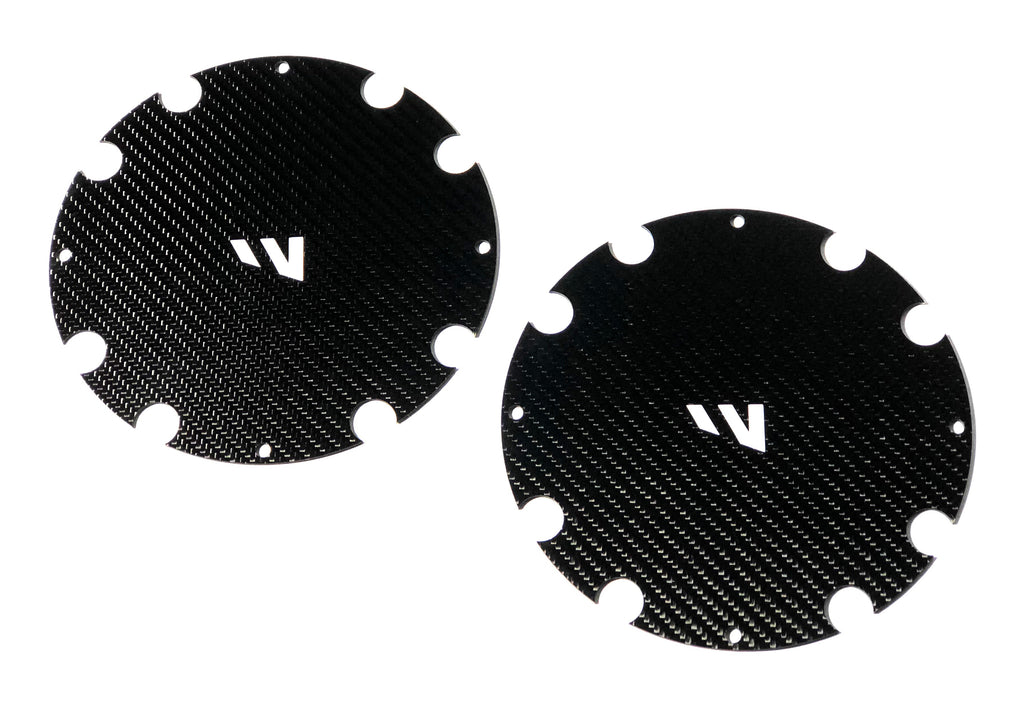 'DWT' - CARBON FIBER MUD PLUG - Set of 2