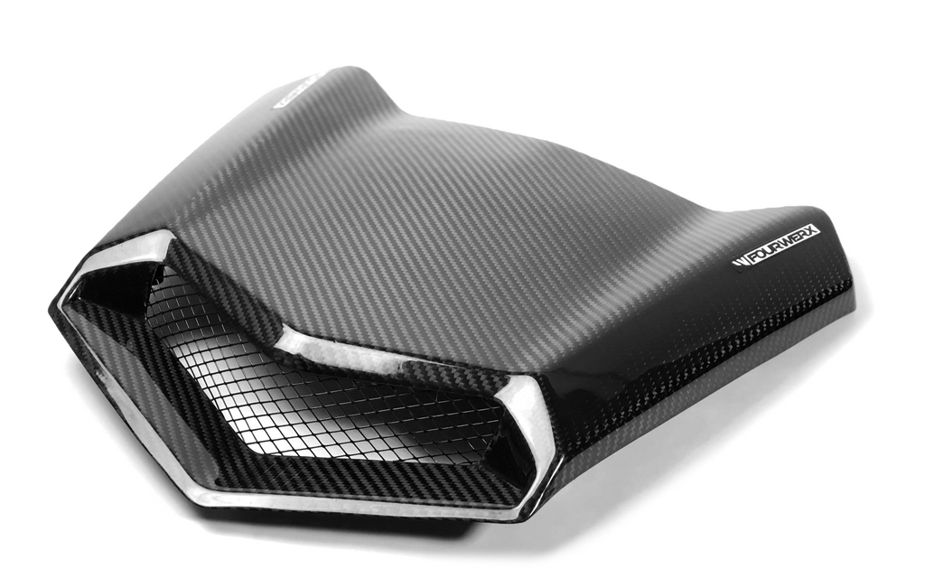 CAN AM MAVERICK X3 CARBON FIBER HOOD