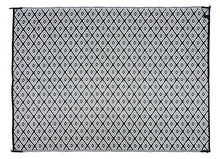 Load image into Gallery viewer, Outdoor Rug - Diamond Black and White