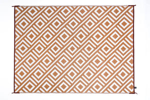 Outdoor Rug - Retro Beige