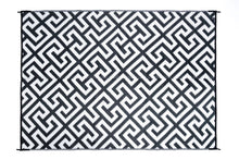 Load image into Gallery viewer, Outdoor Rug - Luxe Black and White
