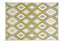 Load image into Gallery viewer, Outdoor Rug - Positano Yellow/White/Grey