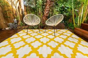Outdoor Rug - Morocco Yellow