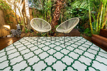 Load image into Gallery viewer, Outdoor Rug - Morocco Green