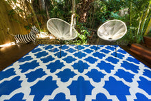 Load image into Gallery viewer, Outdoor Rug - Morocco Blue