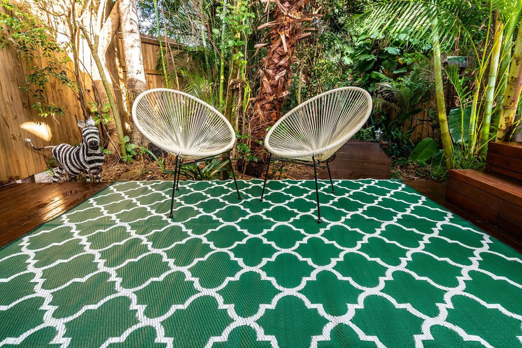 Outdoor Rug - Morocco Green